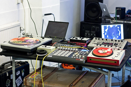 Rob's live sampling setup
