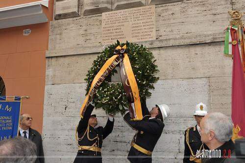 In ricordo degli italiani trucidati alle Fosse Ardeatine