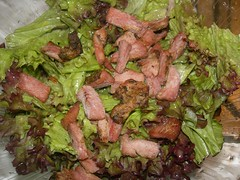 red lettuce singlina salad