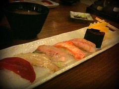 Nigiri sushi, Omakase course, Chiharu