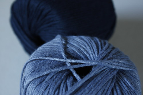 Blue Bamboo + Cotton