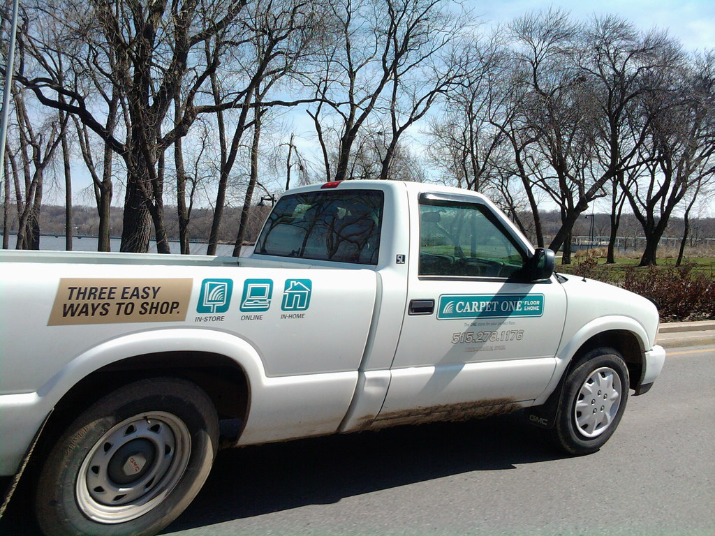 Carpet One Truck - Fleur Drive - Des Moines, Iowa