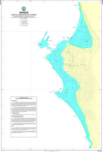 Carta de inundación Iquique