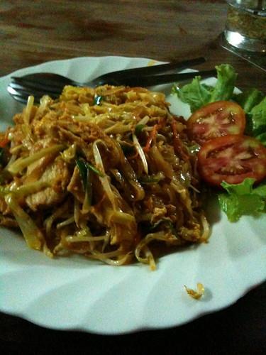 Pad Thai for Dinner