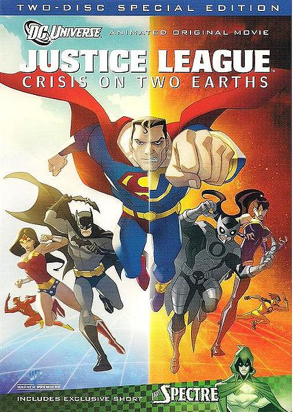 Justice League: Crisis on Two Earths cover