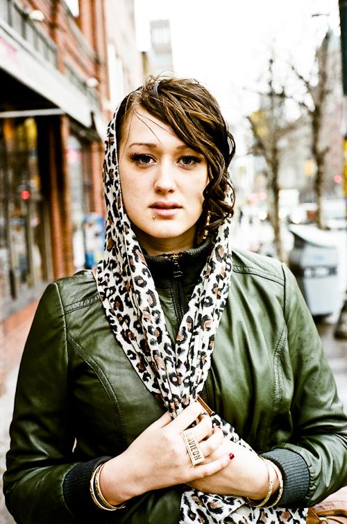 Head Scarf, Toronto Street Fashion @ Spadina Ave., Toronto