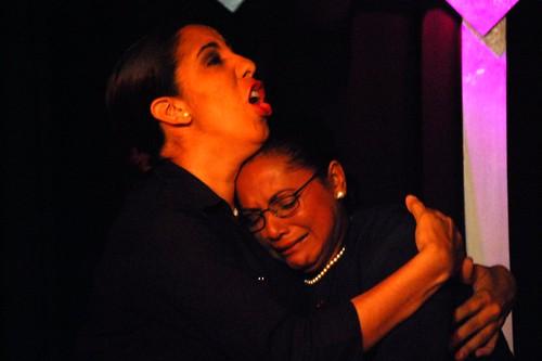 Wendy Alba y Lidia Ariza.