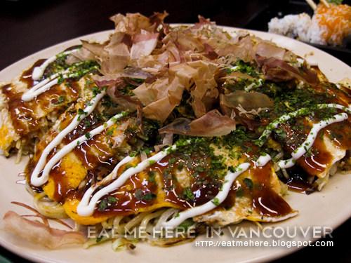 Deli Nippon Italian style okonomiyaki
