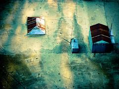 Tinroof...Rusted (copazetic) Tags: usa rooftop sanantonio texas 2009 sheds christmasseason tinroofrusted mrb52s