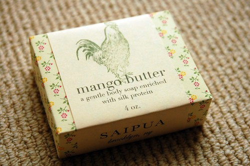 Mango Butter soap from Saipua