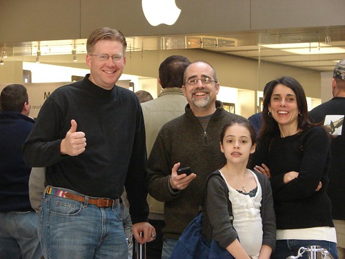 Thumbs up for the iPad in Maine by Wesley Fryer, on Flickr