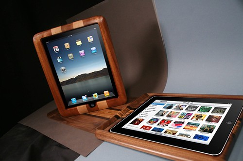 Substrata Wood iPad Cover