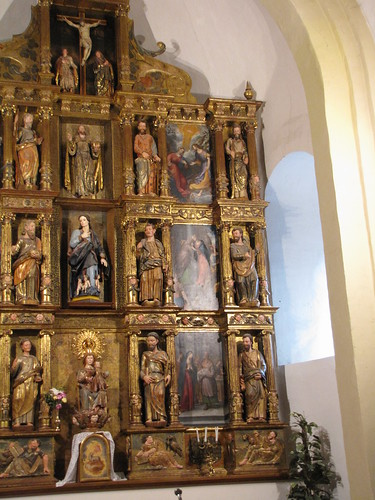 Iglesia de Santa María de la Asunción - Derecha retablo mayor