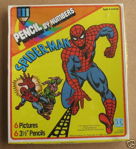spidey_pencilbynumbers