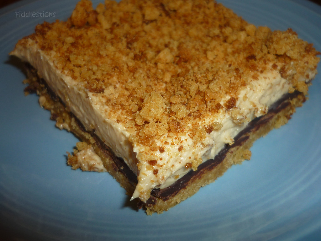 Chocolate Cream Cheese- Peanut Butter Bars!