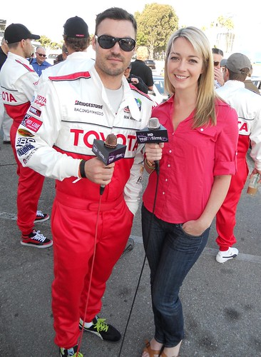 Brian Austin Green, Toyota Grand Prix of Long Beach, Celeb Practice