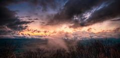 After the Storm (Walter Arnold Photography) Tags: sunset sky sun rock set clouds nc high jump nikon skies dynamic north sigma off hendersonville carolina range 1020 hdr hdri wnc d300 photomatix