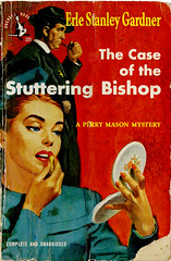 Perry Mason_Stuttering Bishop_1948_tatteredandlost (T and L basement) Tags: 1948 ephemera perrymason vintagepaperback earlstanleygardner illustratormiltonwolsky pocketbooksinc