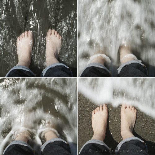 El mar en mis pies