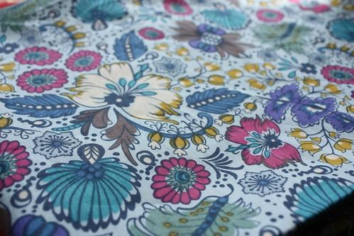 anna maria horner voile blue floral
