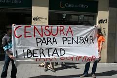 Madrid: Azione di espropriazione alla Casa del Libro - Bologna keeps on burning!