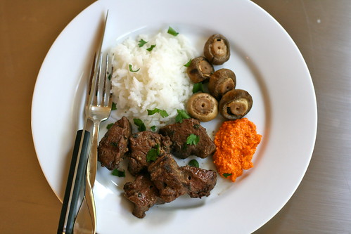 cumin-scented beef kabobs