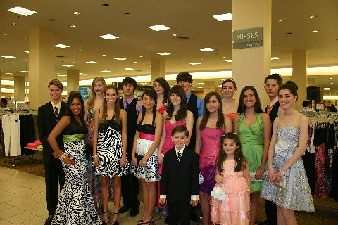 Barbizon Students Model for Sears
