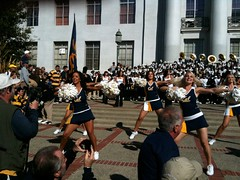 Cal Football Rally #2 (edwardmarcel) Tags: california golden berkeley fight cheerleaders song bears band cal usc uc 3gs iphone