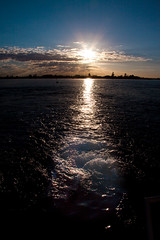 Leaving at sunrise (SuzC_au) Tags: convention gardenisland suzphotos