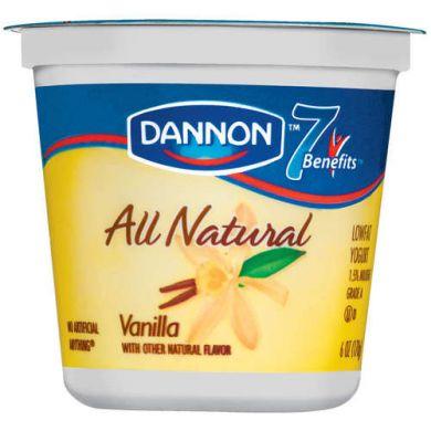 dannon vanilla