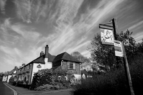 The New Flying Horse, Wye