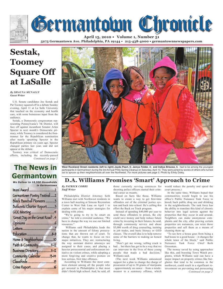 The Germantown Chronicle