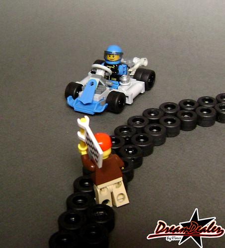 lego kart racing