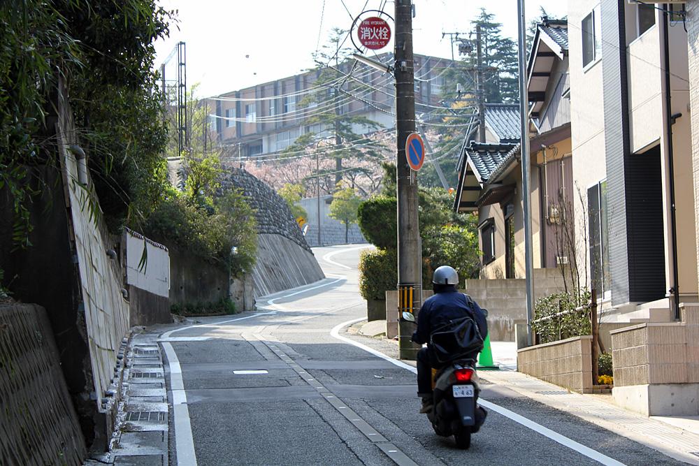 天神坂 - 金沢の坂道