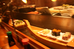 Sushi Boat 5 from our trip to San Francisco