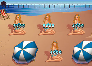 free Life's a Beach gamble bonus game