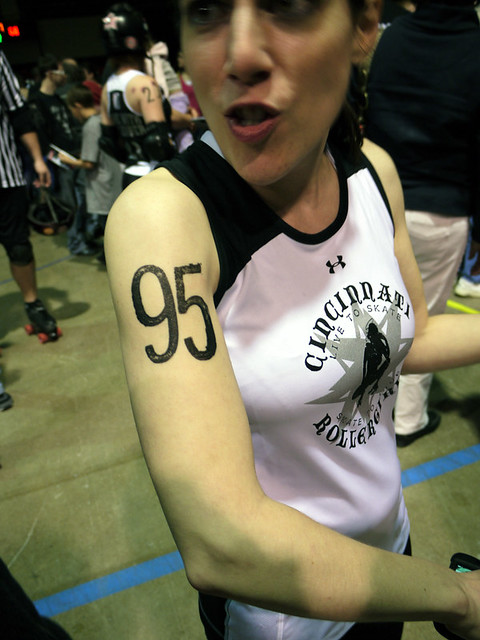 Cincinnati Rollergirls vs. ARRG