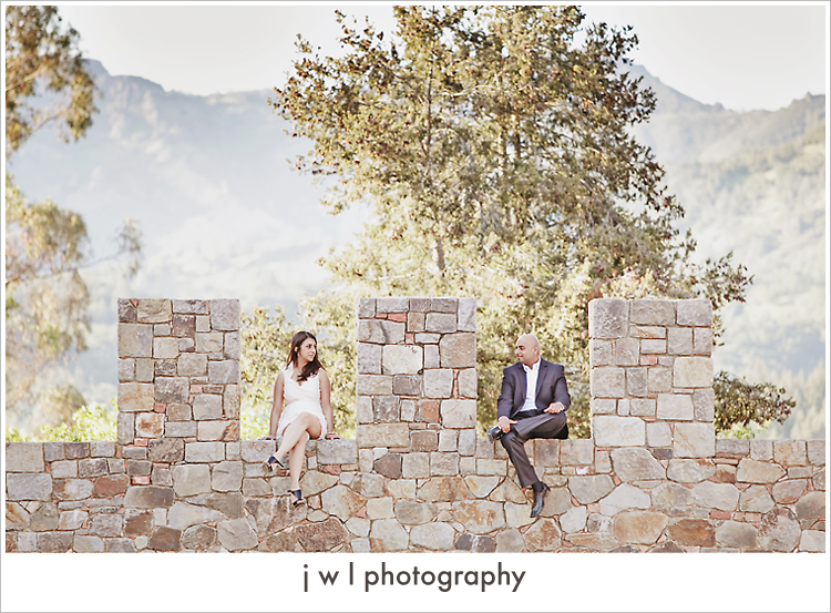 castello di amorosa, engagement session, j w l photography, deepa + roneel_13