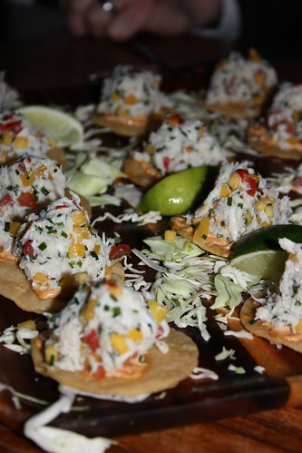 Crab tostadas. I think I ate six of these.