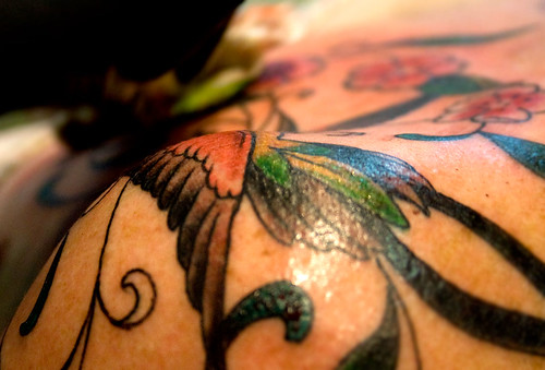 hummingbird tattoo. Hummingbird Tattoos