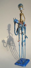 the sky cow rider 4 (Tireless Artist) Tags: sky cow ooak clauds artdoll turkishblue claudwatcher