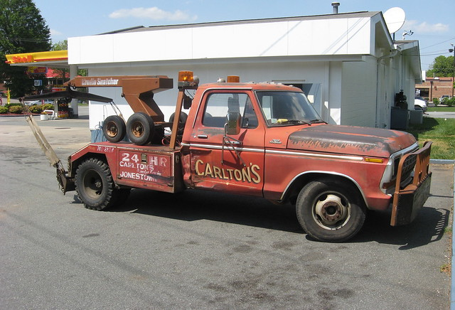 ford truck nc ranger north carolina 1978 1979 tow f350 wrecker
