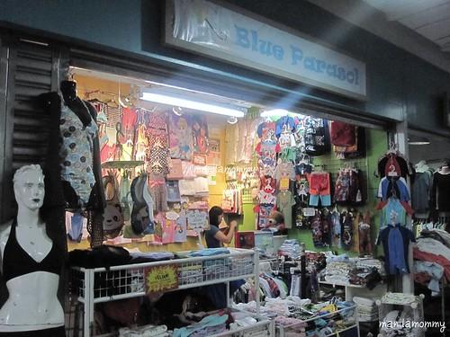 blue parasol market market