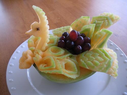 Melon Bird Basket