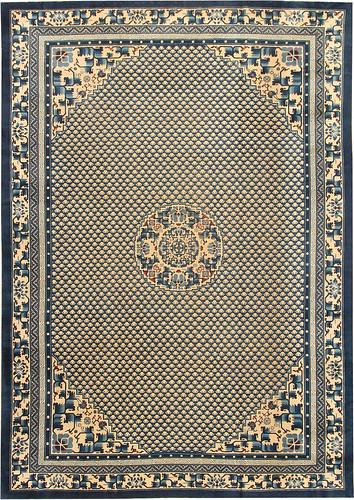 Antique Chinese Oriental Carpet #42561