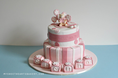 BABY FULL MONTH CAKE