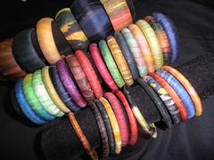 Pulseiras de seda!!!!!!! (Atelier Mnica de Godoi) Tags: cores silk pulseiras seda mig atelier