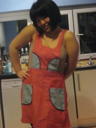jamie in mahala's apron