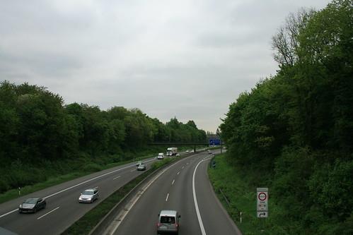 Ruhrschnellweg bei Styrum