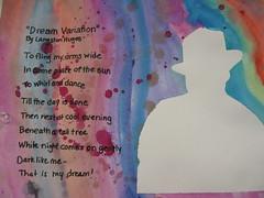 Langston Hughes Silhouette & Origonal Poem